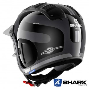 Casco Shark X-DRAK 2 Thrust-R - Antracite Nero