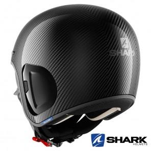 Casco Shark S-DRAK CARBON 2 Carbon Skin - Nero