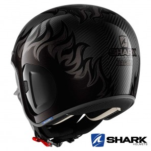 Casco Shark S-DRAK CARBON 2 Dagon - Nero Antracite