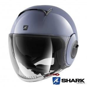 Casco Jet Shark NANO Blank - Grigio Nardo
