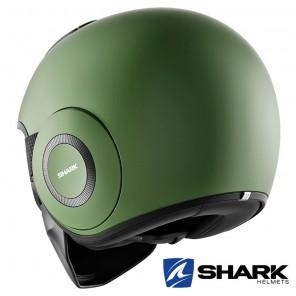 Casco Shark DRAK Blank Mat - Verde