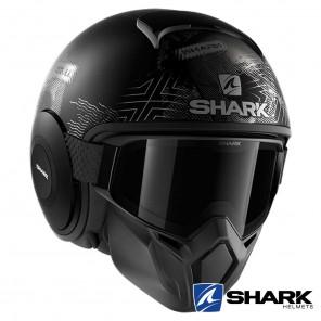 Casco Shark STREET-DRAK Krull Mat - Nero Antracite