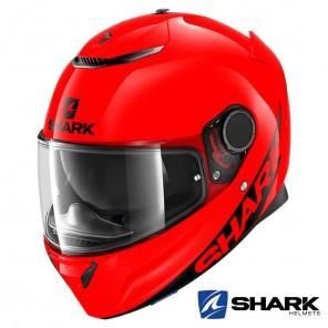 Casco Integrale Shark SPARTAN Blank - Rosso