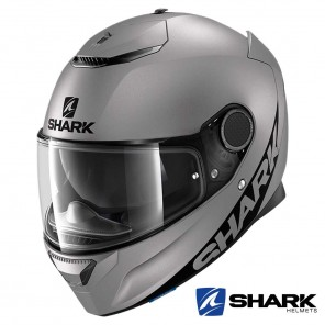Casco Integrale Shark SPARTAN Blank Mat - Antracite
