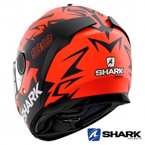 Shark Casco SPARTAN Replica Lorenzo Austrian GP Mat