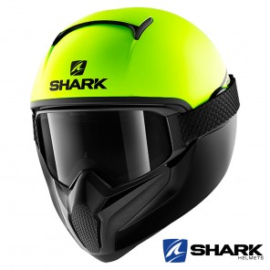 Casco Integrale Shark VANCORE 2 Street-Neon Mat - Giallo Nero