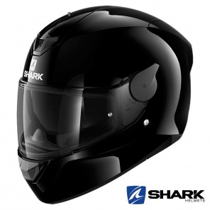 Casco Moto Integrale Shark D-SKWAL 2 Blank - Nero