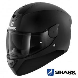Casco Moto Integrale Shark D-SKWAL 2 Blank Mat - Nero