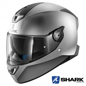 Casco Integrale Shark SKWAL 2 Blank Mat - Antracite