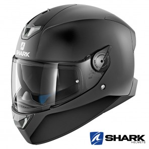 Casco Integrale Shark SKWAL 2 Blank Mat - Nero