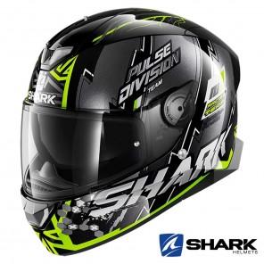 Casco Moto Integrale Shark SKWAL 2 Noxxys - Nero Giallo Argento
