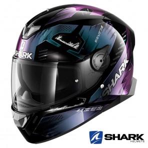 Casco Moto Integrale Shark SKWAL 2 Venger - Nero Glitter