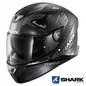 Casco Moto Integrale Shark SKWAL 2 Venger Mat - Nero Antracite