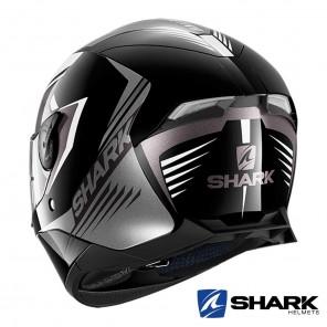 Casco Shark SKWAL 2 Hallder - Nero Bianco Antracite