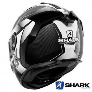 Casco Shark SPARTAN GT CARBON Shestter - Carbonio Bianco