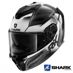 Casco Integrale Shark SPARTAN GT CARBON Shestter - Carbonio Bianco