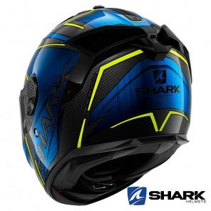 Casco Shark SPARTAN GT CARBON Kromium - Carbonio Blu Cromo