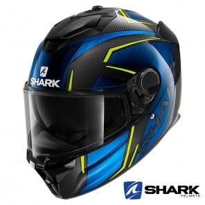 Casco Integrale Shark SPARTAN GT CARBON Kromium - Carbonio Blu Cromo