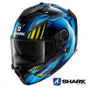 Casco Integrale Shark SPARTAN GT Replikan - Nero Blu Cromo