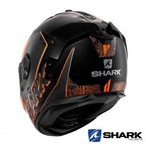 Casco Shark SPARTAN GT Ryser Mat - Nero Antracite Arancione