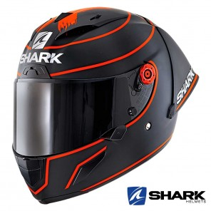 Casco Integrale Shark RACE-R PRO GP Lorenzo Winter Test 2019 Mat - Nero Rosso