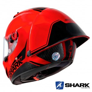 Casco Shark RACE-R PRO GP Blank 30th Anniversary - Rosso Nero