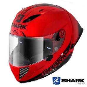 Casco Integrale Shark RACE-R PRO GP Blank 30th Anniversary - Rosso Nero