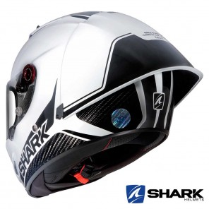 Casco Shark RACE-R PRO GP Blank 30th Anniversary - Bianco Nero