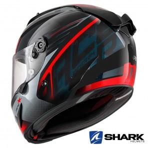 Casco Shark RACE-R PRO ASPY - Nero Antracite Rosso