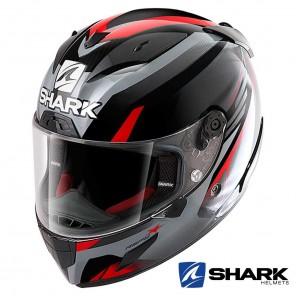 Casco Moto Integrale Shark RACE-R PRO ASPY - Nero Antracite Rosso