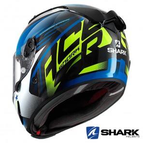Casco Shark RACE-R PRO ASPY - Nero Blu Giallo