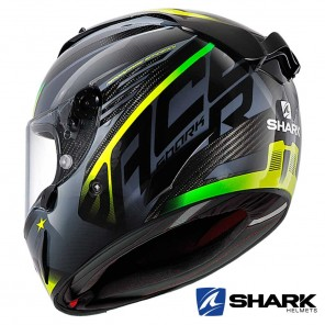 Casco Shark RACE-R PRO CARBON ASPY - Nero Antracite Giallo