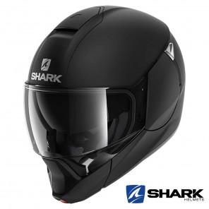 Casco Apribile Shark EVOJET Blank Mat - Nero