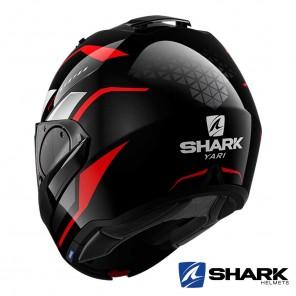 Casco Shark EVO-ES Yari - Nero Rosso Bianco