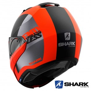 Casco Shark EVO-ES Endless Mat - Arancione Nero