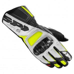 Guanti Pelle Moto Spidi STR-5 - Nero Giallo Fluo