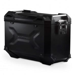 Valigia Laterale Destra Alluminio SW-MOTECH TRAX ADV L - 45 Litri - Nero