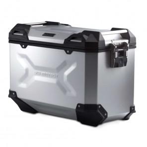 Valigia Laterale Destra Alluminio SW-MOTECH TRAX ADV L - 45 Litri - Argento