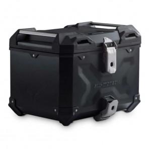 Bauletto Alluminio SW-MOTECH TRAX ADV - 38 Litri - Nero