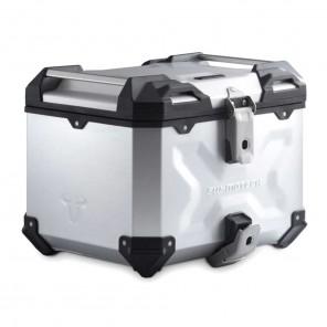 Bauletto Alluminio SW-MOTECH TRAX ADV - 38 Litri - Argento