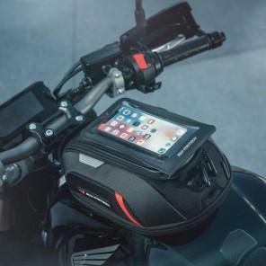 Smartphone DRYBAG SW-MOTECH per attacco MOLLE - Nero