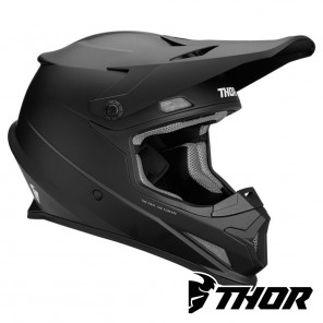 Casco Motocross Thor SECTOR - Nero