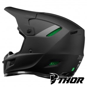 Casco Thor REFLEX BLACKOUT - Nero