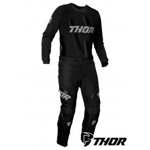 Completo Enduro Thor TERRAIN (In The Boot) - Nero