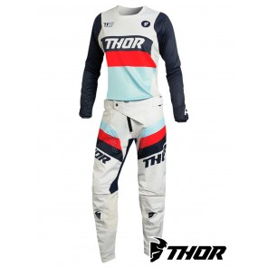 Completo Cross Donna Thor Women's PULSE RACER - Bianco Vintage Midnight
