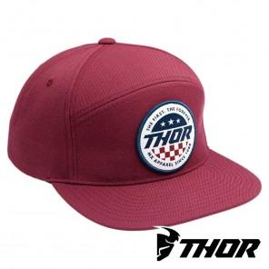 Cappellino Thor PATRIOT Snapback - Burgundy