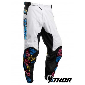 Pantaloni Cross Thor PULSE FAST BOYZ - Bianco