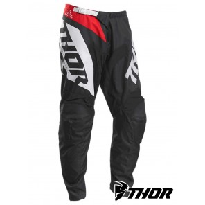 Pantaloni Cross Thor SECTOR BLADE - Carbone Rosso