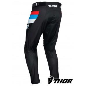 Pantaloni Thor PULSE RACER - Nero Rosso Blu