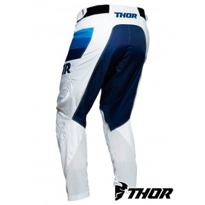 Pantaloni Thor PULSE RACER - Bianco Navy